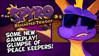 Spyro Reignited Trilogy - Some New Gameplay, Small Look At P...