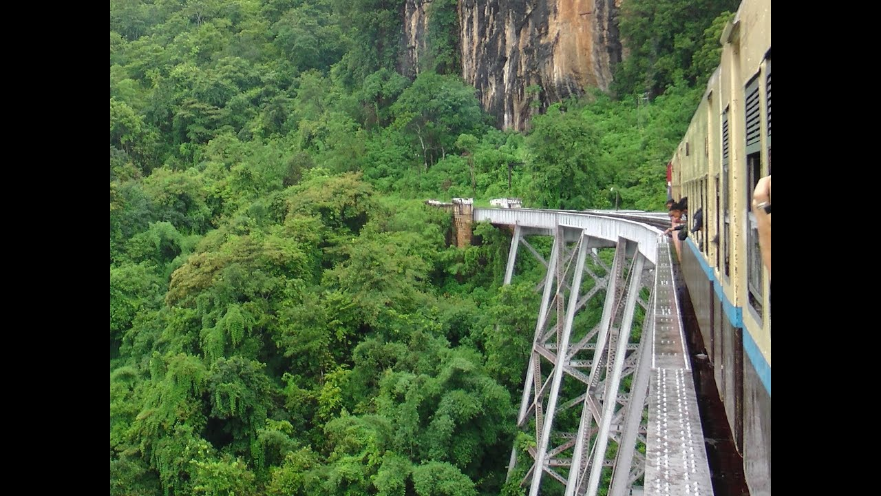 The train across the Gokteik Viaduct | Sandalsand Global