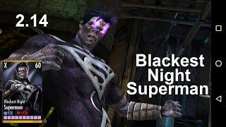 Injustice Mobile 2.14: Blackest Night Superman sneak preview