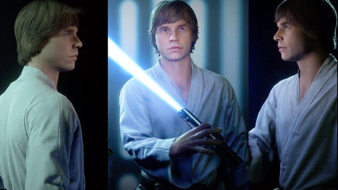 Farm Boy Luke Appearance Star Wars Battlefront 2 Youtube