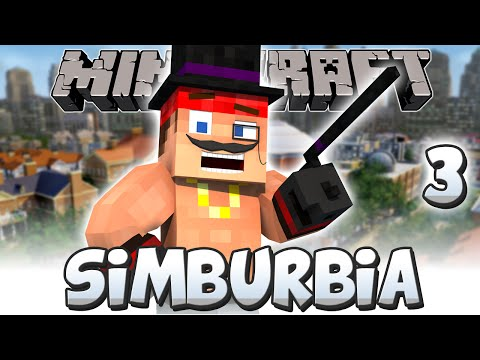 Minecraft: SIMBURBIA! | Part 3 | The COMMERCIAL EXPANSION (Minecraft 1.8)