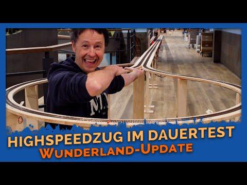 Lockdown Update # 2 - Endurance test on high-speed train route - Miniatur Wunderland