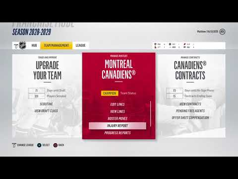 Round 1 - Rangers | NHL 18 Franchise Mode - Fixing the Franchise | Montreal Canadiens #37