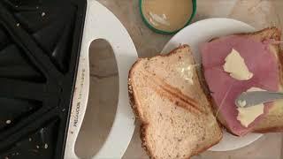 # 샌드위치메이커 샌드위치만들기