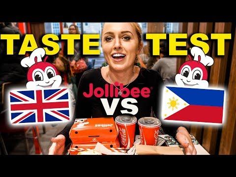 Filipino Jollibee in LONDON?! British Couples first TASTE TEST!