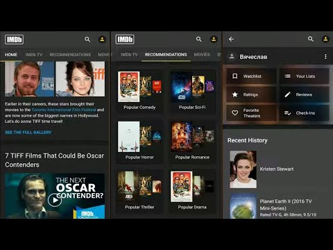 IMDb Movies & TV Shows (by IMDb) - App For Android And IOS.