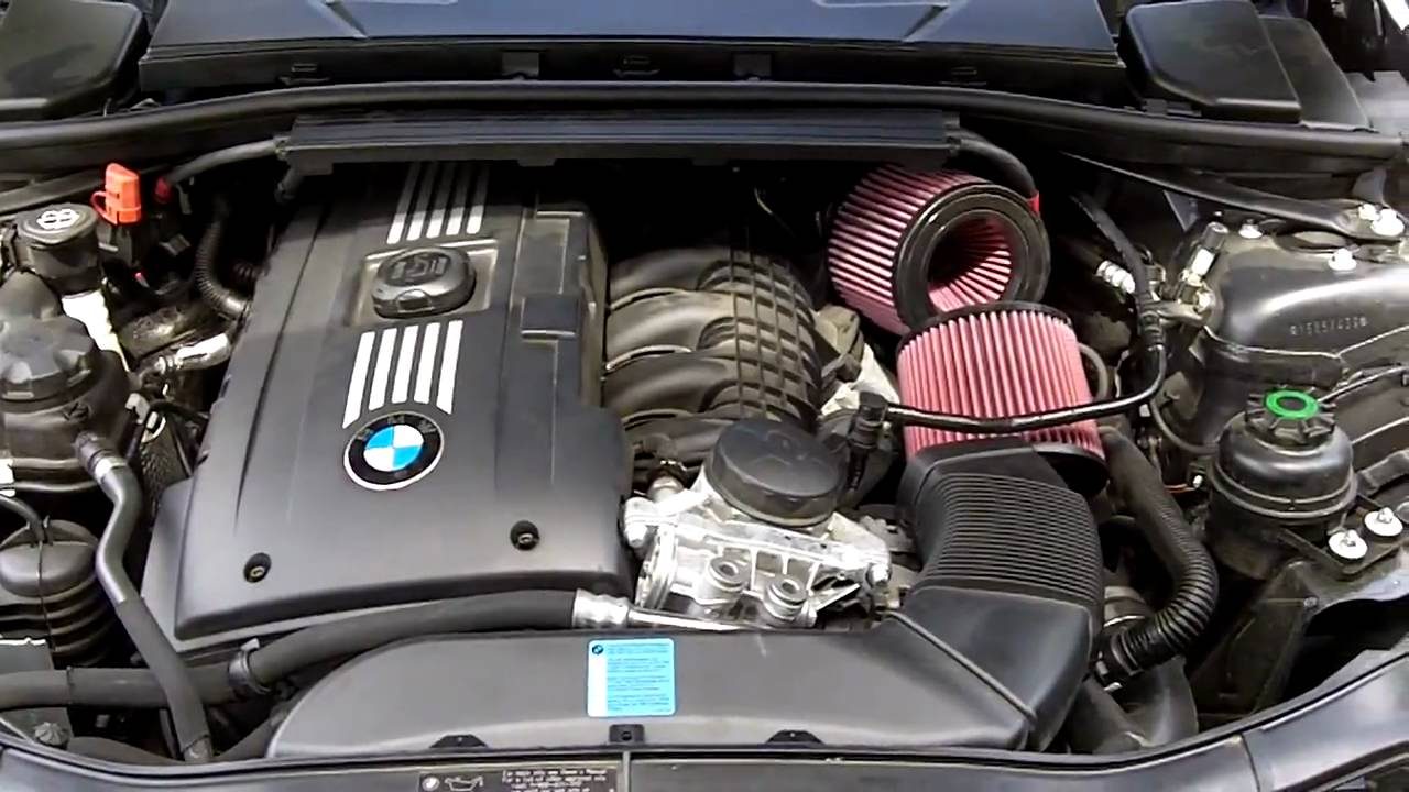 BMS DCI intakes BMW 335i YouTube