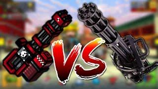 Pixel Gun 3D vs Real Life 3