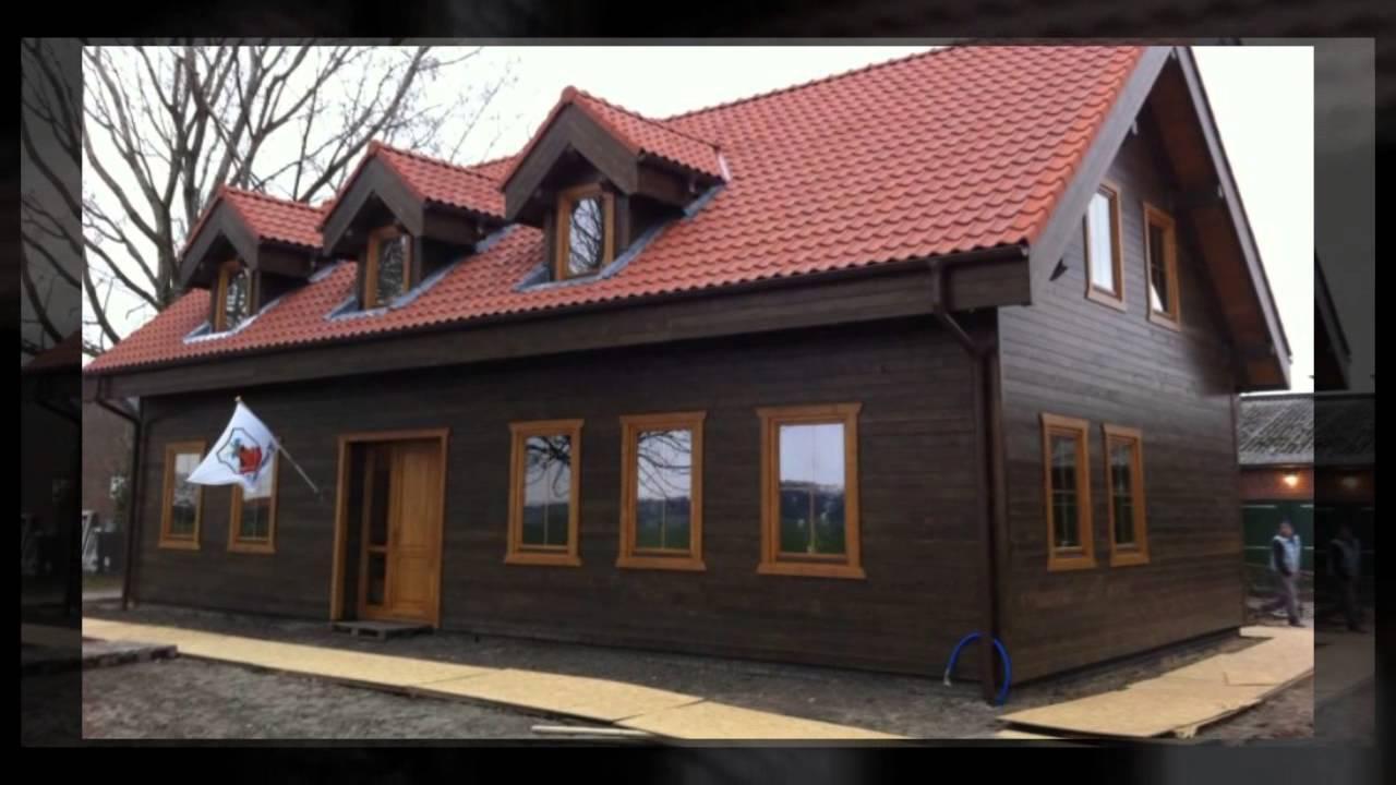 Houten huizen youtube - Meer mooie houten huizen ...