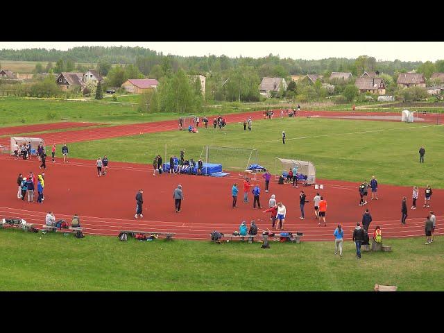 Sporta spēles vieglatlētikā Vārkavas vidusskolas stadionā 11.05.2015