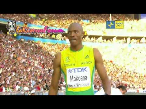 Mondiali Atletica Berlino 2009: Finale salto in lungo Uomini - Godfrey Khotso Mokoena argento 8.47
