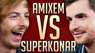 SuperKonar  VS Amixem: Match à mort & jeu concours