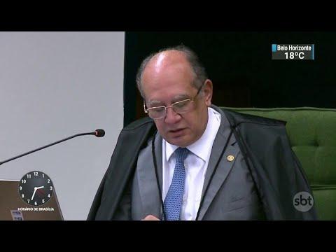 Gilmar Mendes manda soltar lobista acusado de participar de desvios | SBT Notícias (16/05/18)