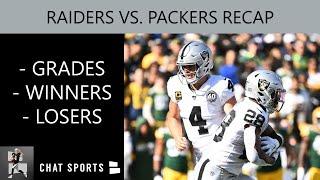 Raiders Week 7 Recap, Grades, Winners, Losers vs. Packers - Derek Carr, Josh Jacobs & Darren Waller