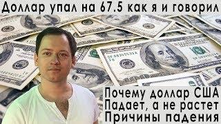 Смотреть видео Прогноз курса доллара евро рубля почему доллар падает и не растет индекс РТС ММВБ на февраль 2019 онлайн