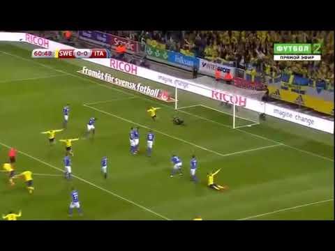 Jakob Johansson Goal HD   Sweden 1 0 Italy 10 11 2017