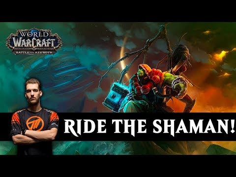Maldiva - Ride The Shaman! - WoW BFA 8.1.5 Warlock PvP