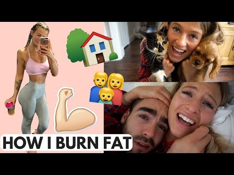 HOW I BURN FAT WITHOUT CARDIO & A Family Morning At Home