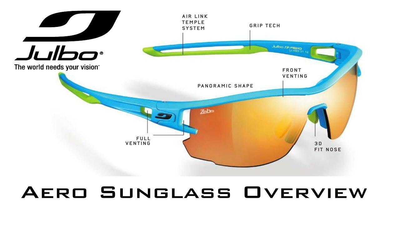 8cee7c3c49 Ian Sharman discusses the Julbo Aero performance Sunglasses - YouTube