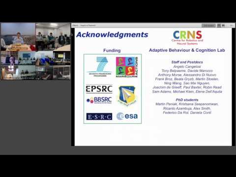 ShanghAI Lectures 2014 – Lecture 6: Cognition and Embodiment