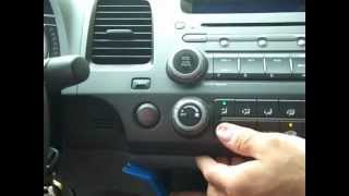 Honda Civic Car Stereo Removal and Repair 2006 2011