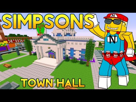Minecraft Springfield S02: Town Hall Retour & Red Blazer Realty Tour