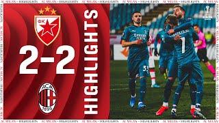 Highlights   Crvena Zvezda 2-2 AC Milan   Europa League Round Of 32 - First Leg