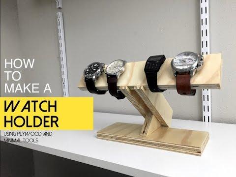 Watch Holder How To Make A Watch Holder Diy Men S Gift Idea