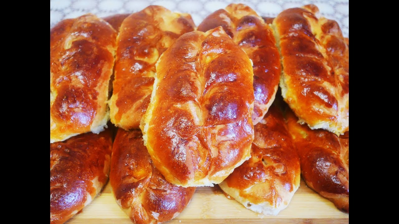 Пирожки с ЯБЛОКАМИ Рецепт ДРОЖЖЕВОГО теста Тесто на пирожки рецепт ТЕСТО рецепт Пирожки в духовке