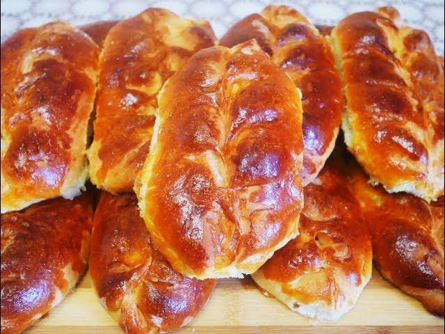 Пирожки с дрожжевого теста в духовке рецепт с фото