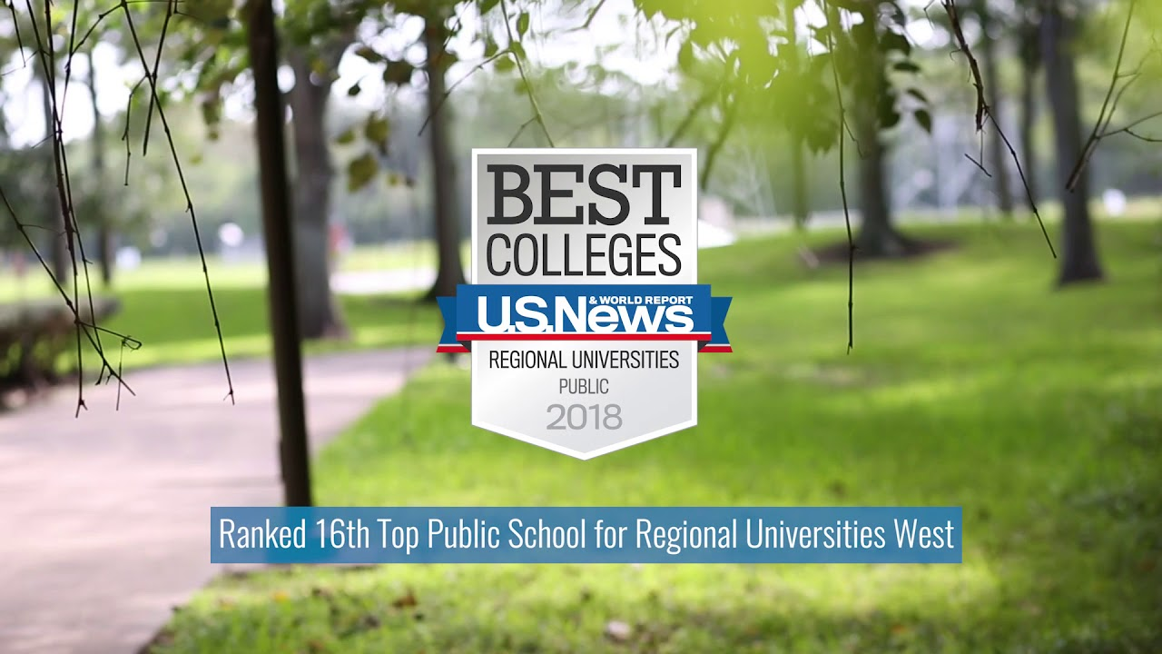 UHCL Ranked Among Top Universities by U.S. News & World Report