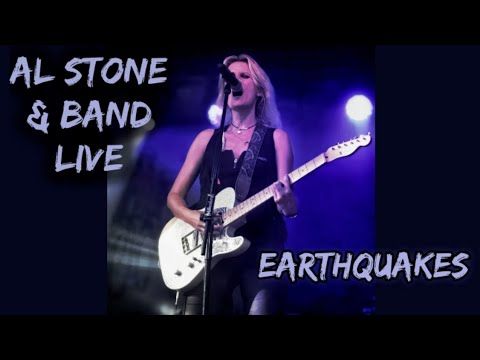 Al Stone & Band- Earthquakes Stadtfest Gießen 2019