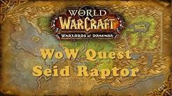 WoW Quest: Seid Raptor
