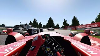 F1 2017 - Realism Mode (NO HUD + COCKPIT) 4k 60fps
