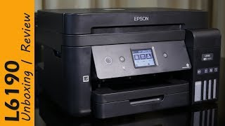 Epson L6190 review - Ink Tank Printer, for office use, with FAX, price Rs. 24,099
