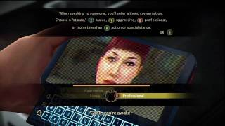 Alpha Protocol First Hour Gameplay Part 1