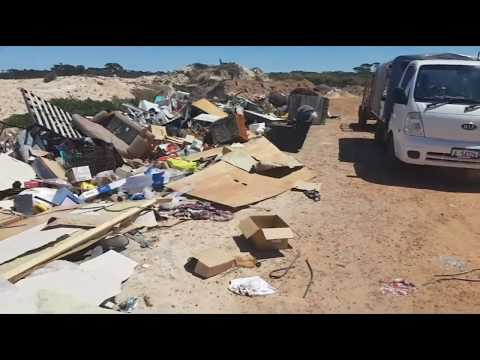 Burn & Bury It! Australia's Disgraceful Rural Rubbish Dumps, No Recycling & Artificial Ocean Reefs