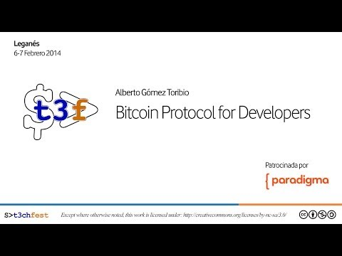 [T3chFest 2014] Bitcoin Protocol for Developers