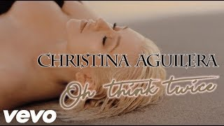 Download Lagu Christina Aguilera - Twice (OFFICIAL LYRICS) Mp3