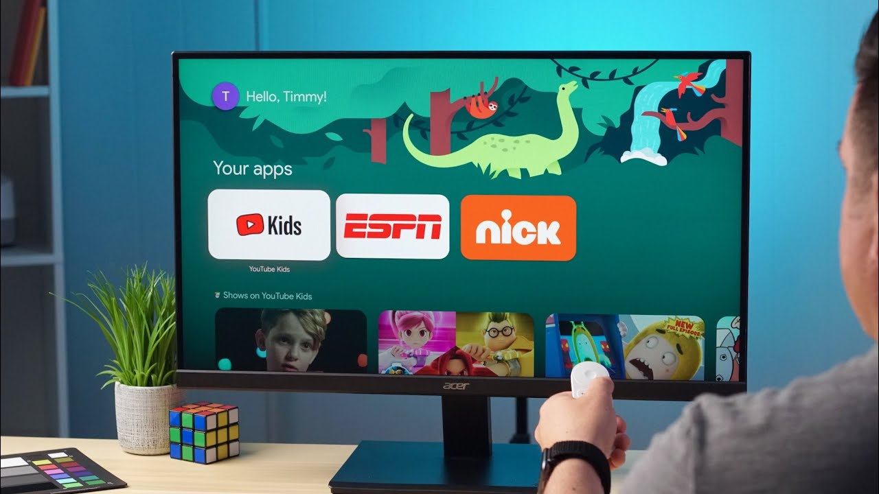 How To Set Up Kid Accounts On Chromecast With Google TV