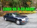 HubNut's Lexus LS400 - acceleration and driving impressions!