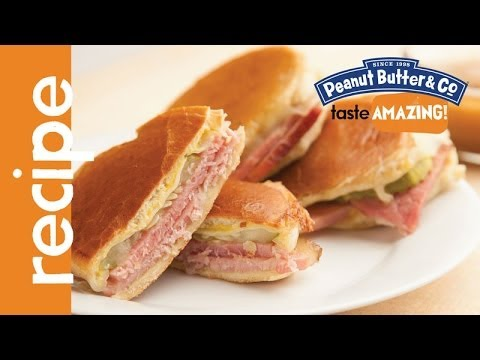 Cuban Sandwiches With Leftover Peanut Butter Glazed Ham Recipe Youtube