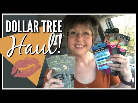 DOLLAR TREE HAUL   New Hair Accessories   November 2019   Country Girl