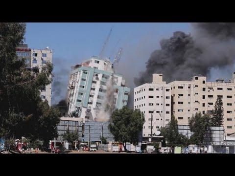 AP y Al Jazeera: Israel bombardea edificio donde se encontraba prensa internacional en Gaza