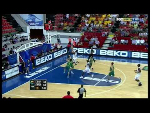 Damian Martin Shot Block vs. Angola