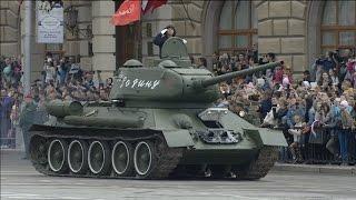 Парад Победы 9 мая 2017 г. в Волгограде