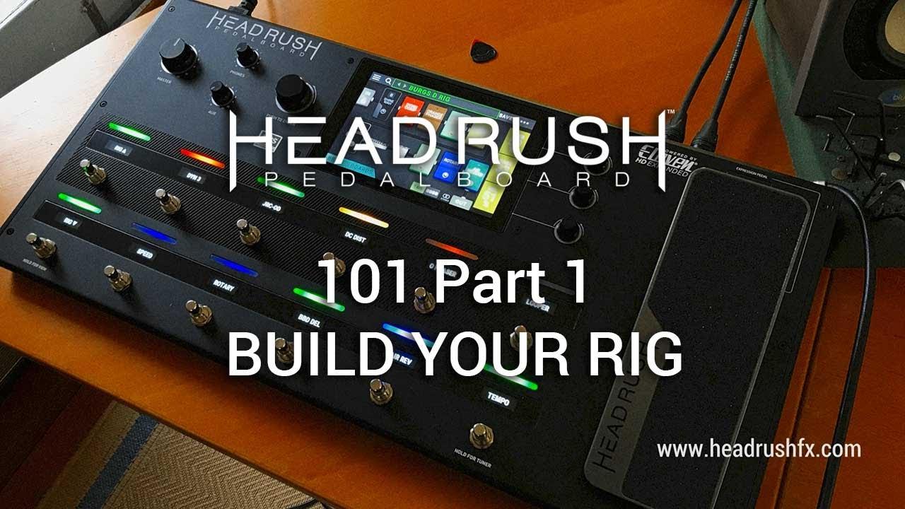 Headrush Gigboard – GMI – Guitar & Music Institute Online Guitar Lessons