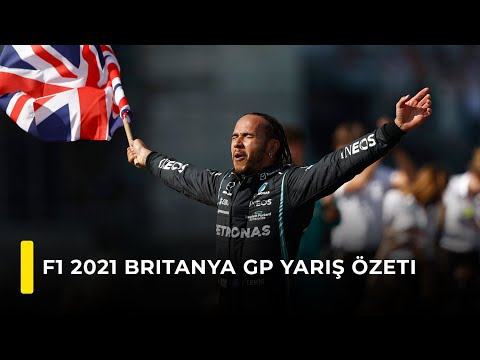 F1 2021 Britanya GP Yarış Özeti