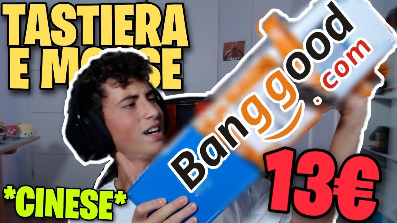 HO COMPRATO UN KIT MOUSE TASTIERA A 13€ DALLA CINA!?!?! *esplode?*