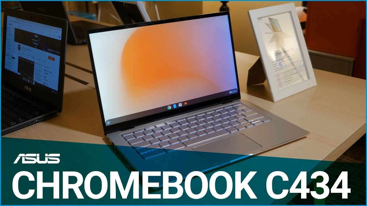 ASUS Chromebook Flip C434 - News from CES 2019